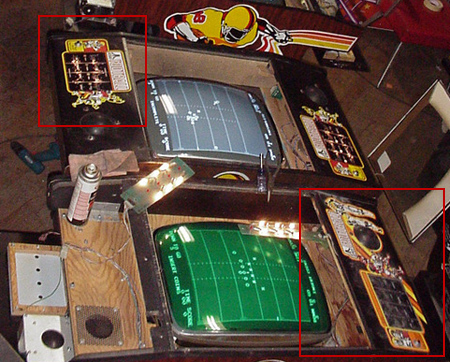 Atari Football Overlays Differences