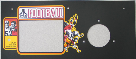 Phoenix Atari Football XO overlays