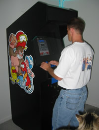 Custom Side Art on a Mame Machine Photo 1