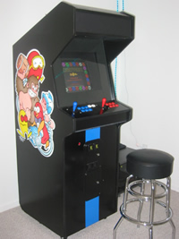 Custom Side Art on a Mame Machine Photo 2