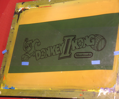 Donkey Kong 2 Marquee Black Film 2