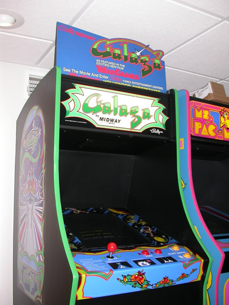 Galaga War Games Header Mounted 2