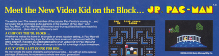 Jr. Pac-man Flyer Section