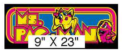 Two-Bit Ms. Pac-man Marquee