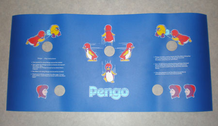 Sega Pengo Reproduction Overlays