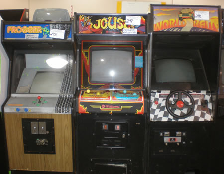 Indianapolis Arcade Auction Fall 2008 - Frogger, Joust, World Rally