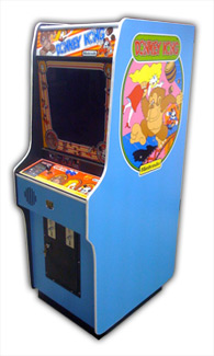 Donkey Kong Arcade Game Photo