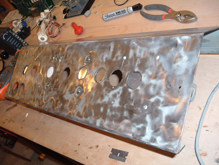 Converted Journey - Control Panel Sanded Down