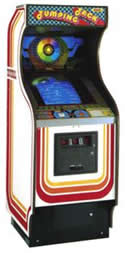 Universal's Jumping Jack Game Cabinet