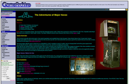 Game Archive Jess Askey Website Screenshot