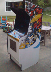 Mr. Do's Castle White Bootleg Cabinet 1 - Time Pilot?