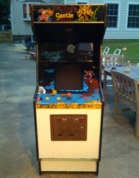 Mr. Do's Castle White Bootleg Cabinet 3 - Time Pilot?