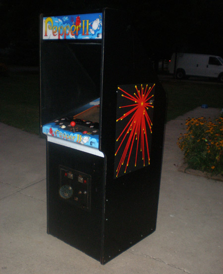 Pepper II Arcade Game Indianapolis Craigslist