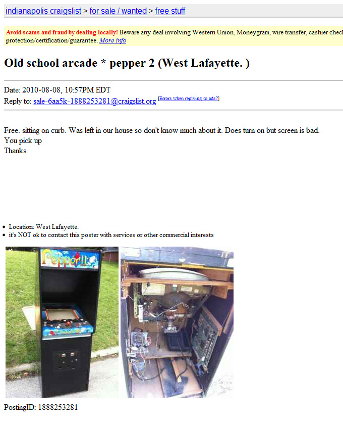 Craigslist of indiana