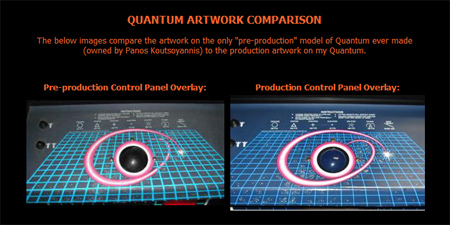 Ataricade Quantum Artwork Comparison