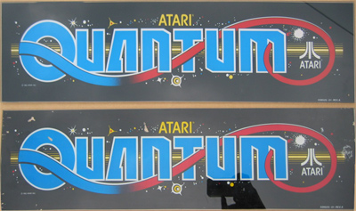 Reproduction Atari Quantum Marquees