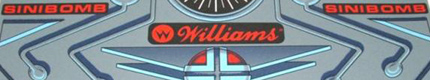 Williams Sinistar Control Panel Overlay Reproductions by Quarter Arcade 1