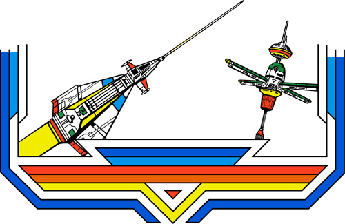 Space Duel Vector Side Art 3