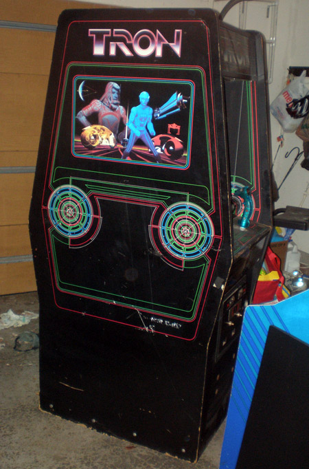 Tron arcade from Bloomington, IN