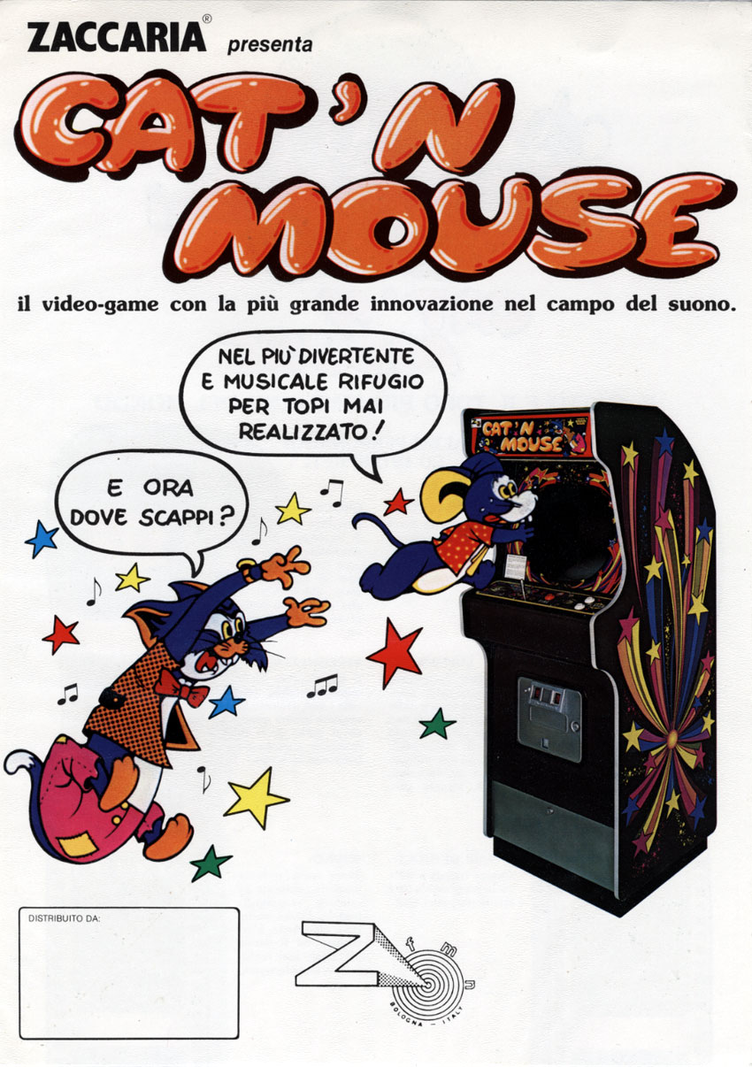 Cat N' Mouse Flyer - Zaccaria