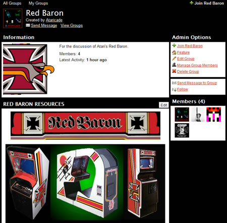 Group of the Week Dec. 08 - Red Baron