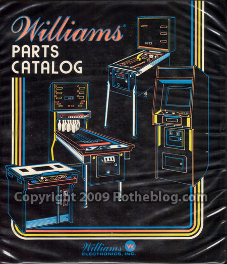 Williams Parts Folder Cover