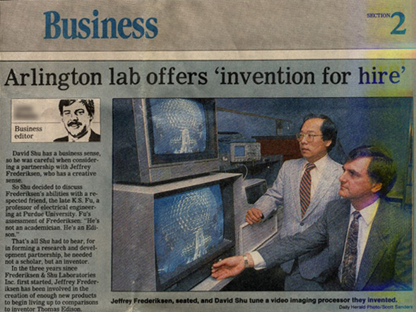 were inventors for hire – whitelabeling to the extreme you might say.