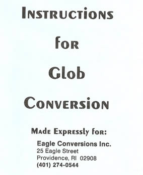 The Glob Instructions Sheet