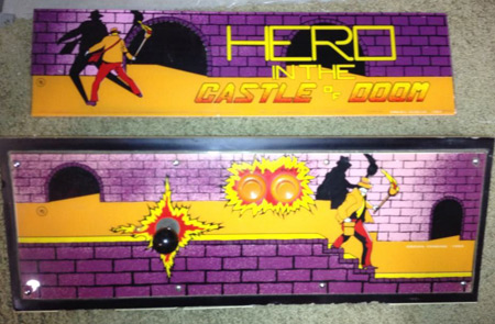 Hero in the Castle of Doom Marquee + Overlay