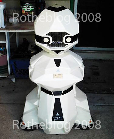 Androbot II from eBay auction - Price of $1,300