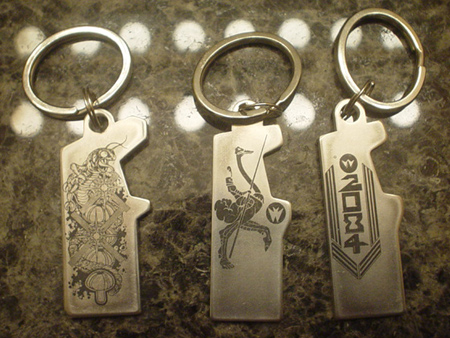 Centipede, Joust and Robotron Keychains