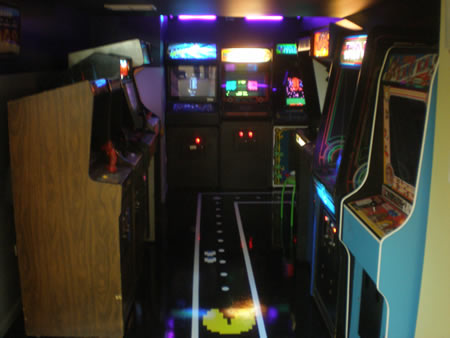 Chris Moore Arcade Party Photo 2