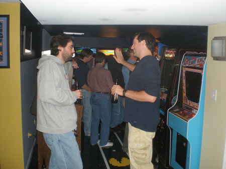 Chris Moore Arcade Party Photo 3
