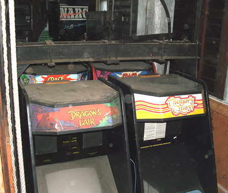 Laser Disc Games - Dragon's Lair, Space Ace & more.