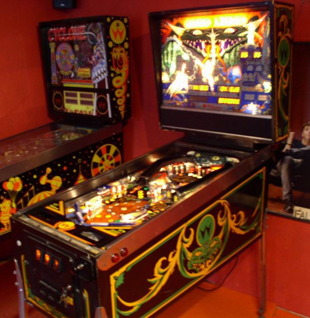 Grand Lizard Pinball Machine