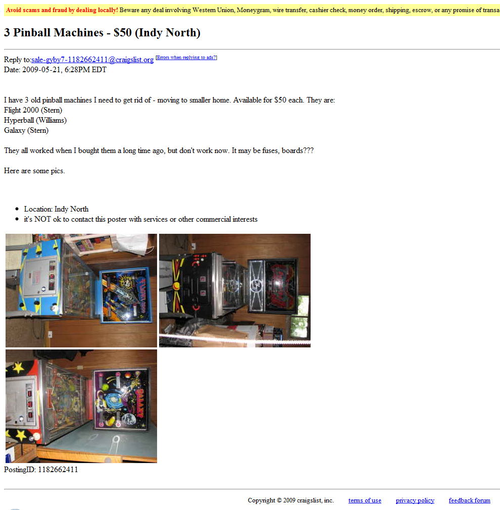 Assistance - Craigslist ... Will i. In general, announcements, do ...