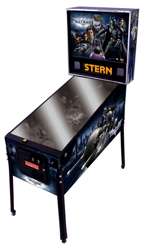Stern's The Dark Knight Pinball Machine