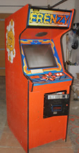 Frenzy Arcade Game - Photo Angled