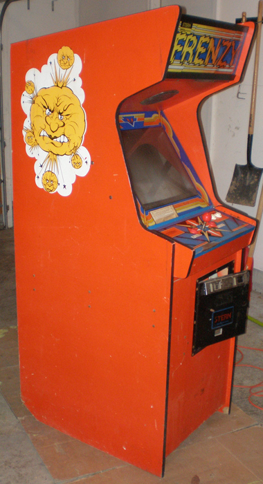 Got The Frenzy Home Today Rotheblog Arcade Game Blog