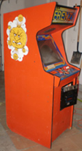 Frenzy Arcade Game - Left Side