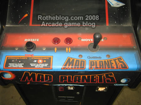 Mad Planets Control Panel