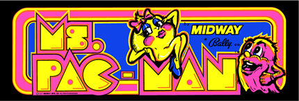 Ms. Pac-man Marquee