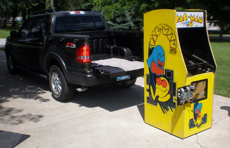 Pac-man Cabinet Leaving 1