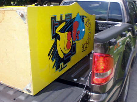 Pac-man Cabinet Leaving 2