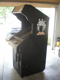 Xevious Cabinet Right Angled