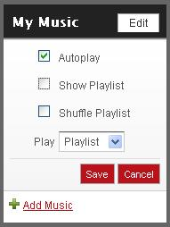 Ning CoinOpSpace.com Music Autoplay Checkbox
