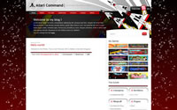Atari Command WordPress Game Theme Screenshot