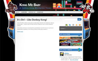 Kong Me Baby WordPress Game Theme Screenshot