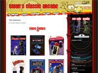 Brian's Classic Arcade RGVAC WordPress Game Theme Screenshot