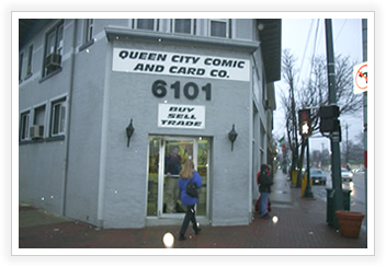 Rothe Blog Queen City Comic and Card Company